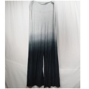 Cynthia Rowley Ombre Flare Wide Leg Pants XL
